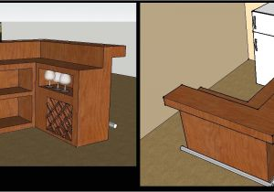 Easy Home Bar Plans Free Home Remodels the Ground Level