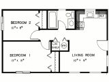 Easy Home Plans 2 Bedroom House Simple Plan Two Bedroom House Plans