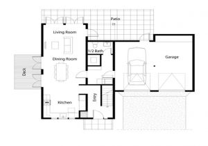Easy Home Plans to Build Simple Affordable House Plans Simple House Floor Plan
