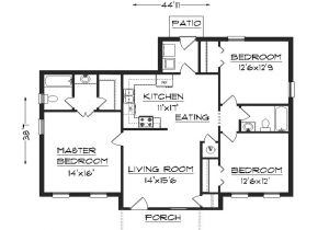 Easy Home Plans to Build Simple House Plans 3 Bedroom House Plans Simple Home