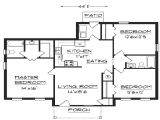 Easy Home Plans to Build Stunning Simple House Plan with 3 Bedrooms Ideas