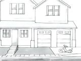 Easy House Plans to Draw How to Draw A House In Addition to Simple Drawing Of A
