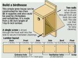 Easy to Build Bird House Plans Birdhouse Plan for Pj Cabane D 39 Oiseaux Et Plan