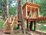 Easy to Build Tree House Plans How to Build A Treehouse In the Backyard