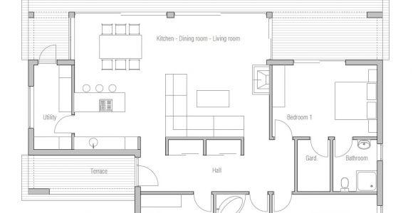 Economical Home Plans Affordable Home Plans Economical House Plan Ch140