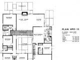 Eichler Home Floor Plans Eichler Floor Plan Hpo 15 Architecture Pinterest