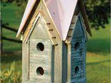 Elaborate Bird House Plans Decorative Bird House Plans