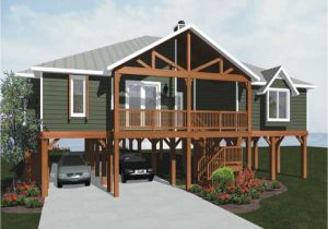 Elevated Coastal Home Plans Beach House Plans On Piers Raised Beach House Plans Pier