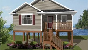 Elevated Coastal Home Plans Elevated Beach House Plans One Story House Plans Coastal