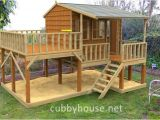 Elevated Dog House Plans Elevated Playhouse Plans Kits Diy Handyman Cubby