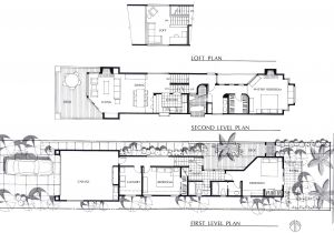 Elevated House Plans for Narrow Lots Surprising Narrow Lot 3 Story House Plans Photos Best