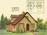 English Cottage Home Plans Radford House Plan English Cottage Style 1925 Radford