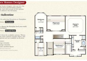 Essex Homes Floor Plans Essex Homes Floor Plans New the Ballentine Second Floor