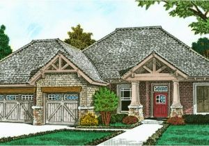 European Home Plans One Story Exclusive One Story European House Plan 48530fm