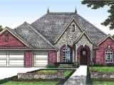 European Home Plans One Story One Story European House Plan with Bonus Space 48303fm
