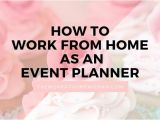 Event Planning Jobs From Home event Planning