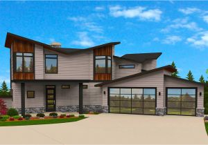 Exciting Home Plans Exciting Exclusive 6 Bed Modern House Plan 85145ms