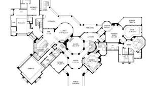 Executive Home Floor Plan Luxury Home Plans Mediterranean Home Design 8768