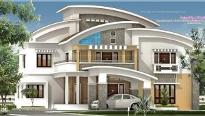 Executive Home Plans Design 3750 Square Feet Luxury Villa Exterior Home Kerala Plans
