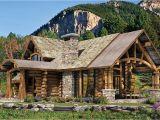 Executive Log Home Plans Upland Retreat Luxury Log Home Planber Frame House Plans
