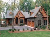 Exposed Basement House Plans Lake House Plans with Walkout Basement Craftsman House