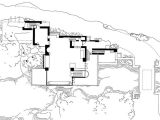 Fallingwater House Plan Architectural Planning Perspective Mr Fatta