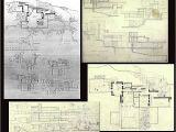 Fallingwater House Plan the Falling Water Floor Plan Howard Architectural Models