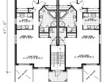 Family Home Plans Com Multi Family Plan 48066 at Familyhomeplans Com