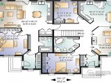 Family Home Plans Multi Family House Plans Triplex House Plans Family House