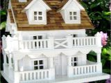 Fancy Bird House Plans Decorative Cape Cod Bird House with Bracket Yard Envy