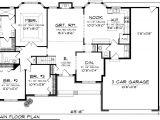 Farm Home Floor Plans Plan Ranch Floor Plans House House Plans 85851