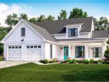Farmhouse Home Plans Exclusive Modern Farmhouse Plan with Flexible Upstairs