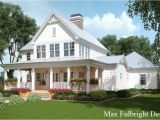 Farmhouse Style Home Plans 2 Story House Plan with Covered Front Porch