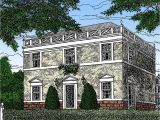 Federal Colonial Home Plans Federal Home Plan with Apartment Below 12802gc 2nd