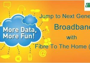 Fibre to the Home Plans Mtnl Mumbai Brings In High Speed Unlimited Fibre to the