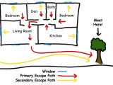 Fire Escape Plan for Home Escape Plans Fire Department