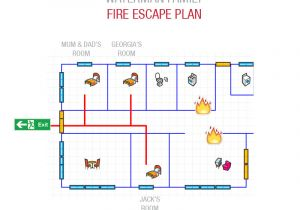 Fire Escape Plan for Home Fire Escape Plan Make Your Own with Cavius Smoke Alarms