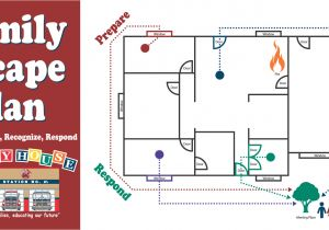 Fire Escape Plan for Home Home Safety