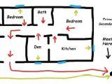 Fire Escape Plans for Home Home Escape Plan township Of Scugog
