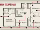 Fire Evacuation Plan for Home Fire Planning Security One Alarm Systems