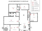 Fire Evacuation Plan for Home Home Emergency Evacuation Plan Homes Floor Plans