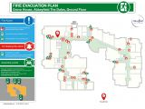Fire Evacuation Plan Residential Care Home 2d Evacuation Plans Silverbear Design