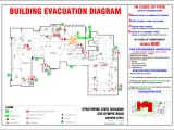 Fire Evacuation Plan Template for Home Building Fire Safety Compliance Requirements Sunstate
