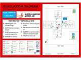Fire Evacuation Plan Template for Home Evacuation Plan Template Australia Templates Resume