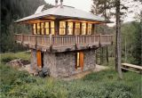 Fire tower House Plans Inside Fire Lookout towers Fire tower Cabin Plans Cool