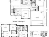 First Floor Master Home Plan Colonial House Plans First Floor Master