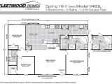 Fleetwood Mobile Home Plans Available Fleetwood Manufactured Home and Mobile Floor