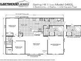 Fleetwood Mobile Homes Floor Plans97 1997 Fleetwood Mobile Home Floor Plan Luxury Mobile Home