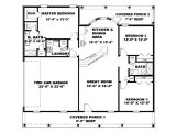 Floor Plan 1000 Square Foot House Open Floor Plans Under 1000 Square Feet