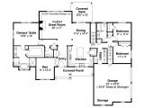 Floor Plan for Homes Ranch House Plans Manor Heart 10 590 associated Designs